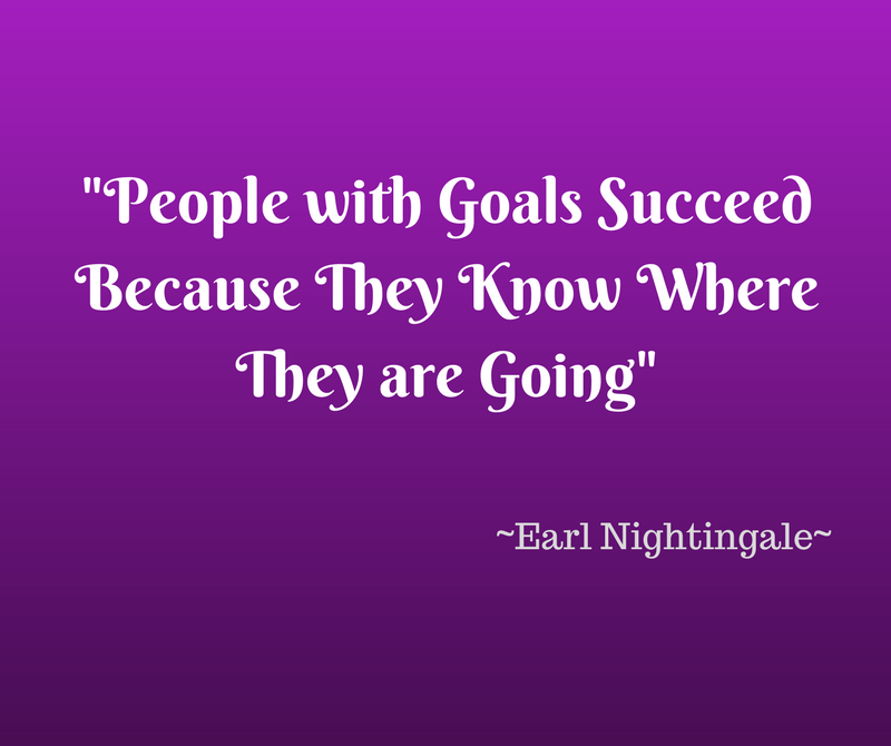 People with Goals Succeed - blog